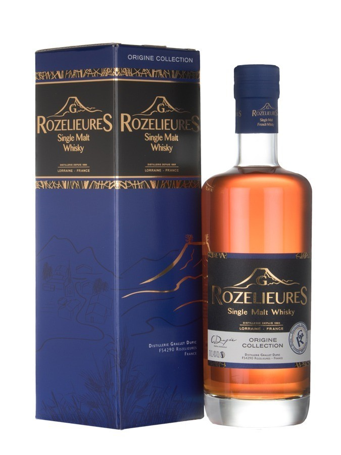 ROZELIEURES Single Malt Origine Collection 40% | Whisky Français de Lorraine