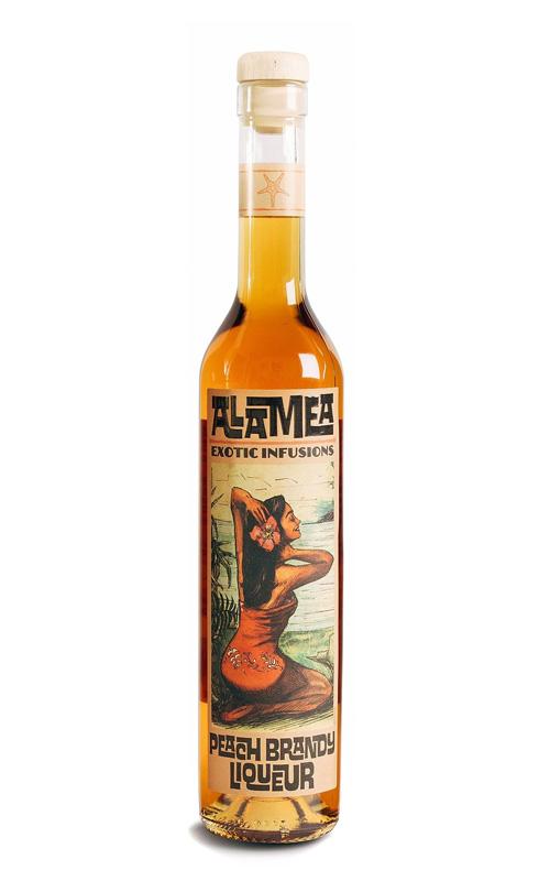 ALAMEA Peach Brandy Liqueur 34% | Liqueur à la Pêche