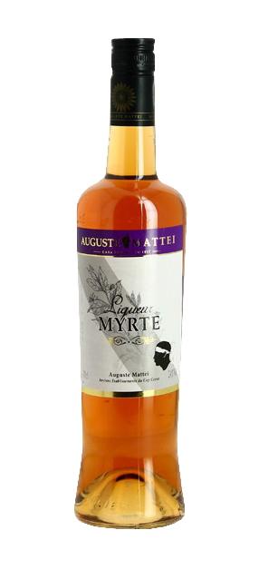 Liqueur de Myrte AUGUSTE MATTEÏ 24% | Liqueur Corse