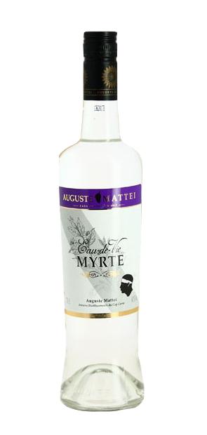 Eau-de-vie de Myrte AUGUSTE MATTEÏ 40% | Alcool Corse