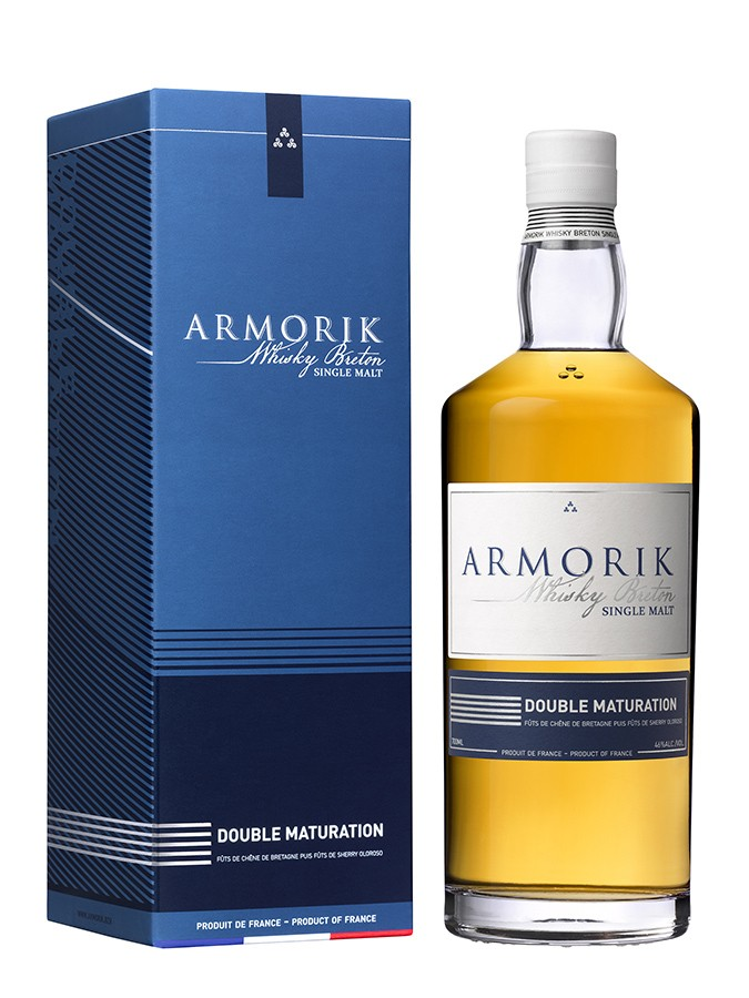 ARMORIK Double Maturation 46% | Whisky Breton