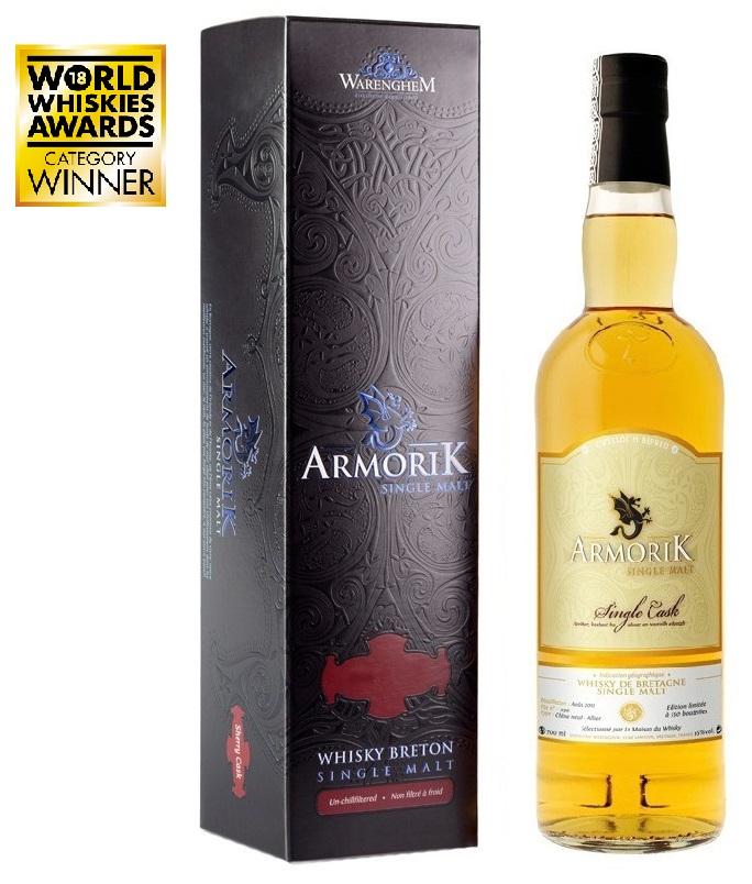 ARMORIK 6 ans Chêne Neuf Édition Limitée 55% | Single Cask Whisky Breton