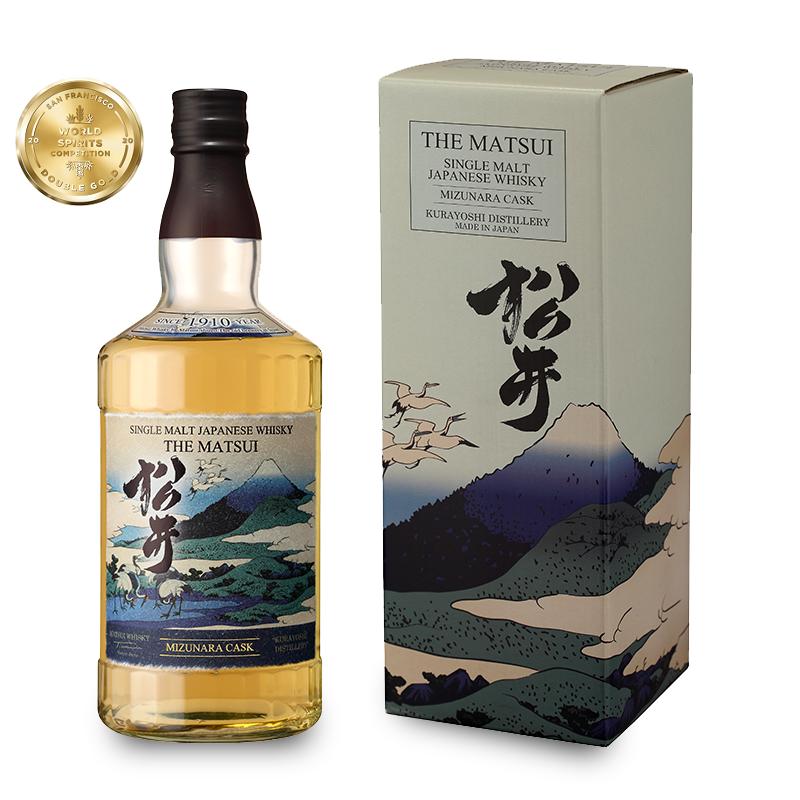 THE MATSUI Mizunara Cask 48% | Whisky Japonais