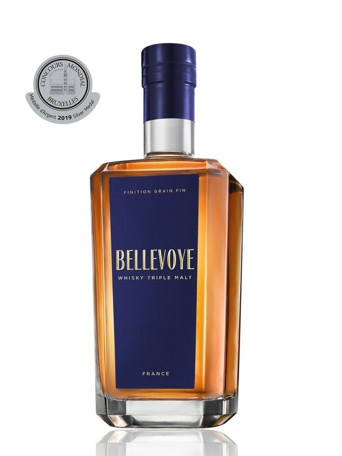 BELLEVOYE Bleu Finition Grain Fin 40 % | Whisky Français
