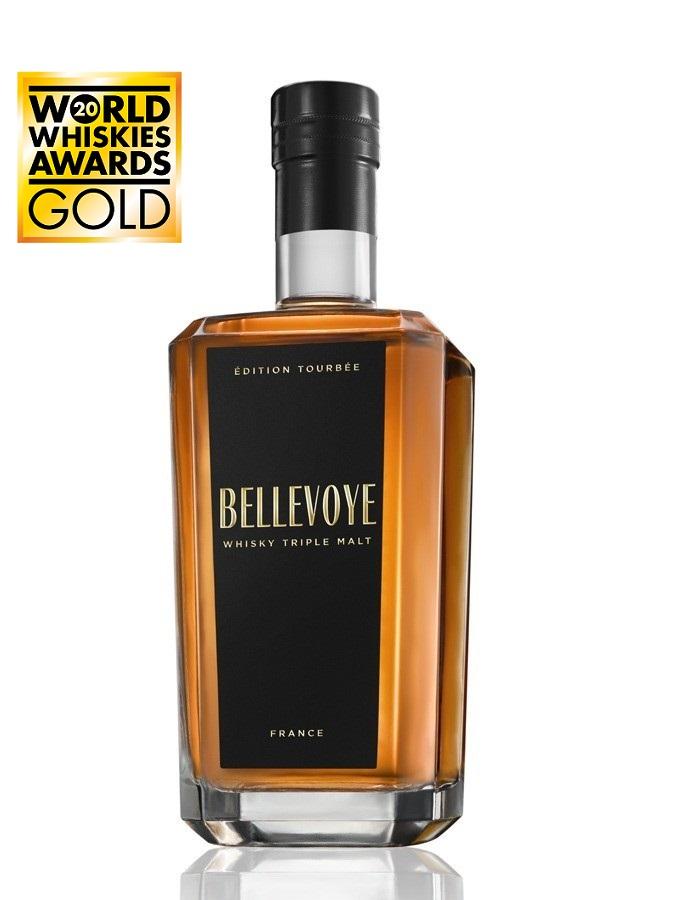 BELLEVOYE Noir Peated Edition 43% | Whisky Français Tourbé