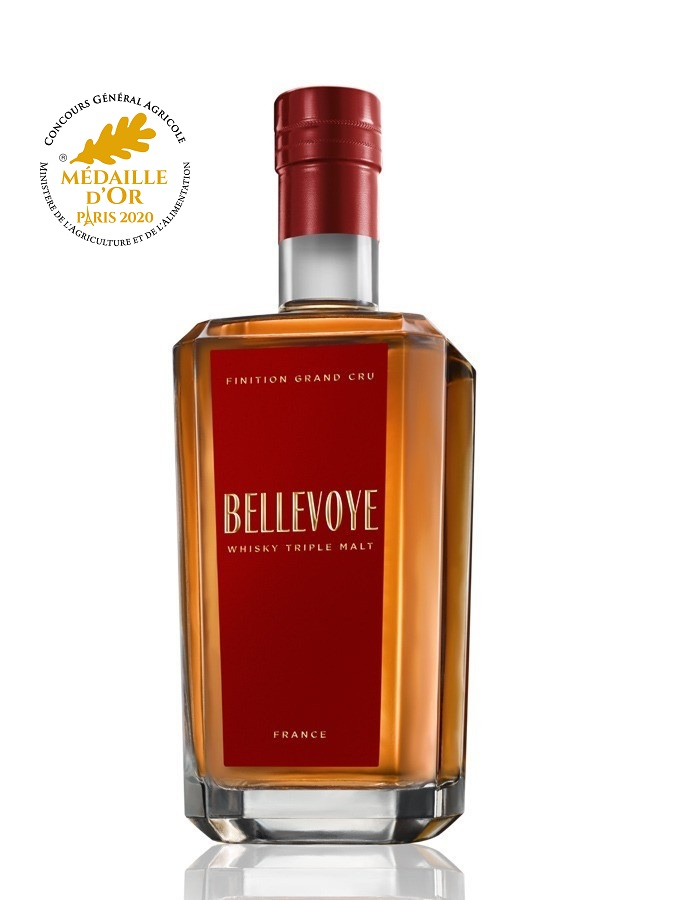 BELLEVOYE Rouge Triple Malt 40% | Whisky Français