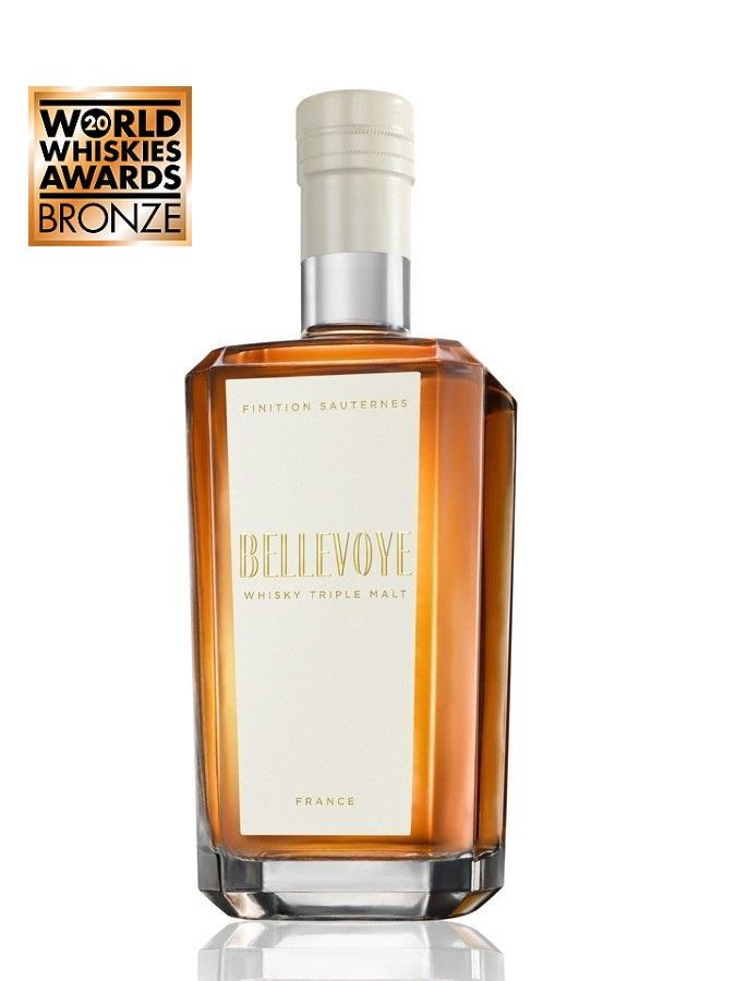 BELLEVOYE Blanc Finition Sauternes 40% | Whisky Français