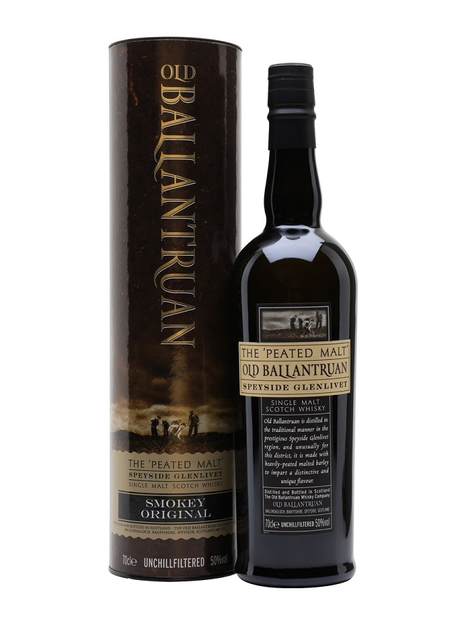 OLD BALLANTRUAN The Peat Malt Smokey Original 50% | Whisky Tourbé