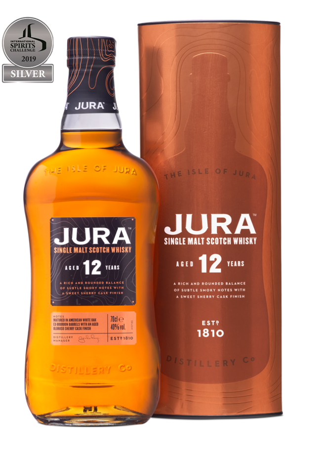 JURA 12 ans 40 % | Single Malt Whisky