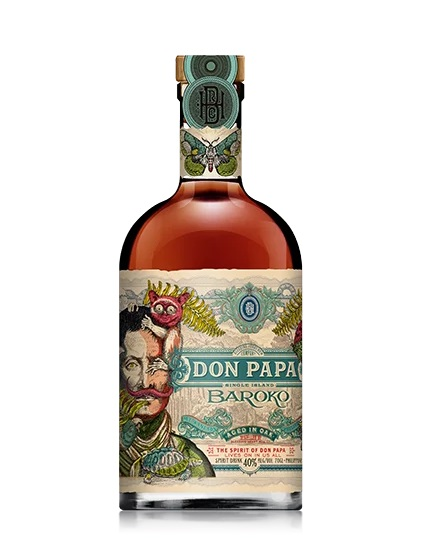 Rhum DON PAPA Bakoro 40 % | Rhum Traditionnel des Philippines