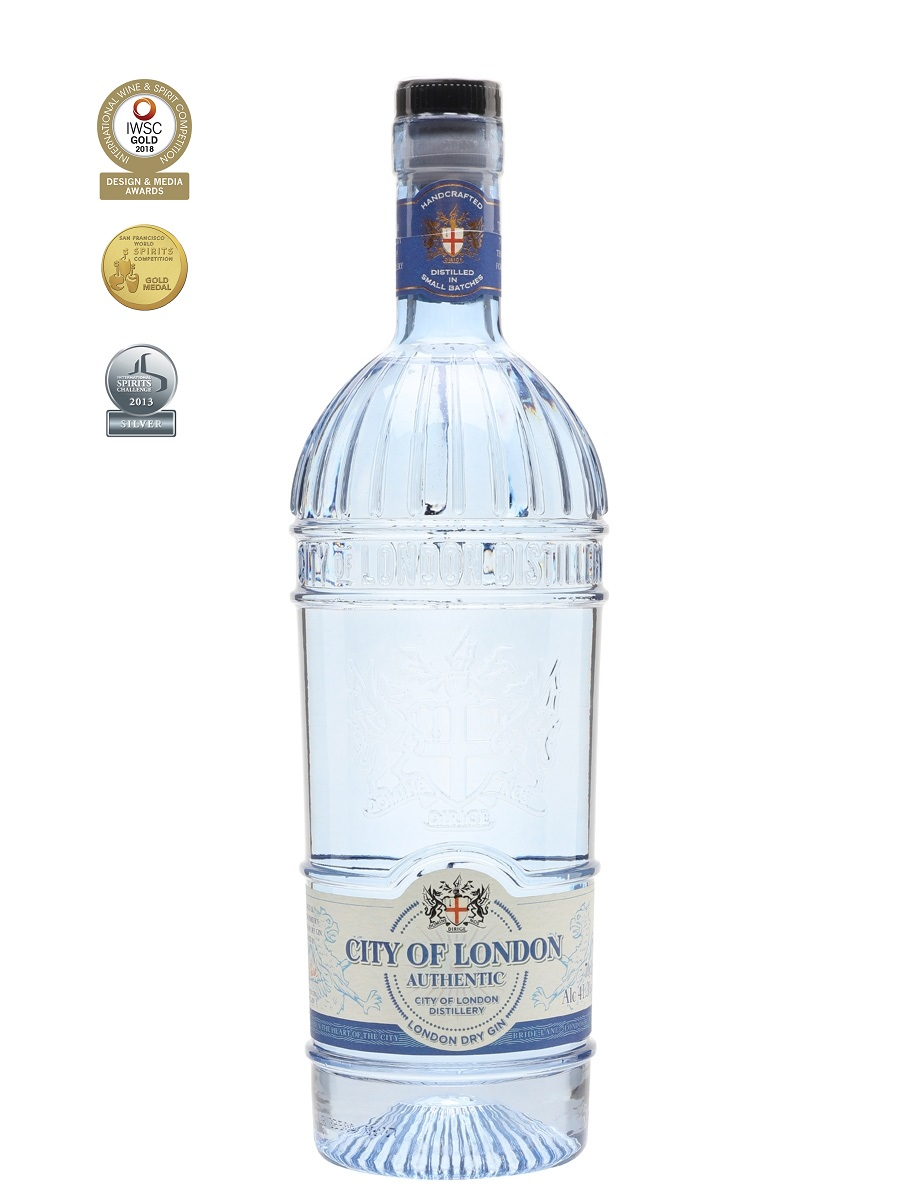 City of London Authentic 41,3%   Dry Gin