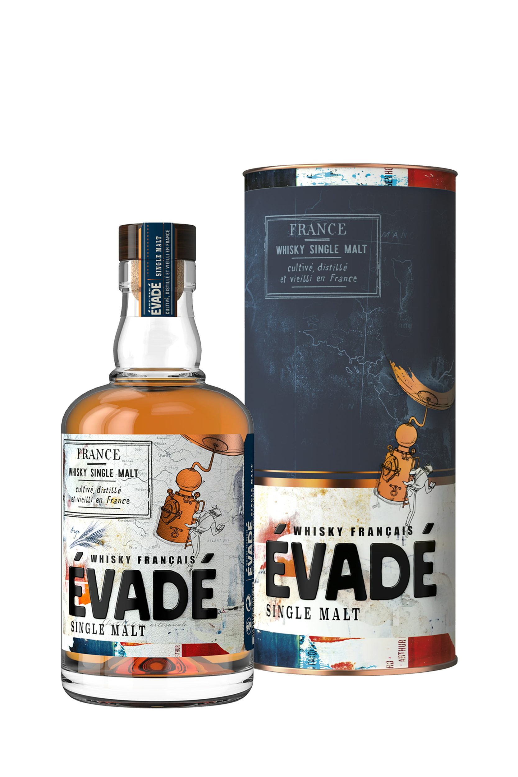 ÉVADÉ Single Malt 40% | Whisky Français