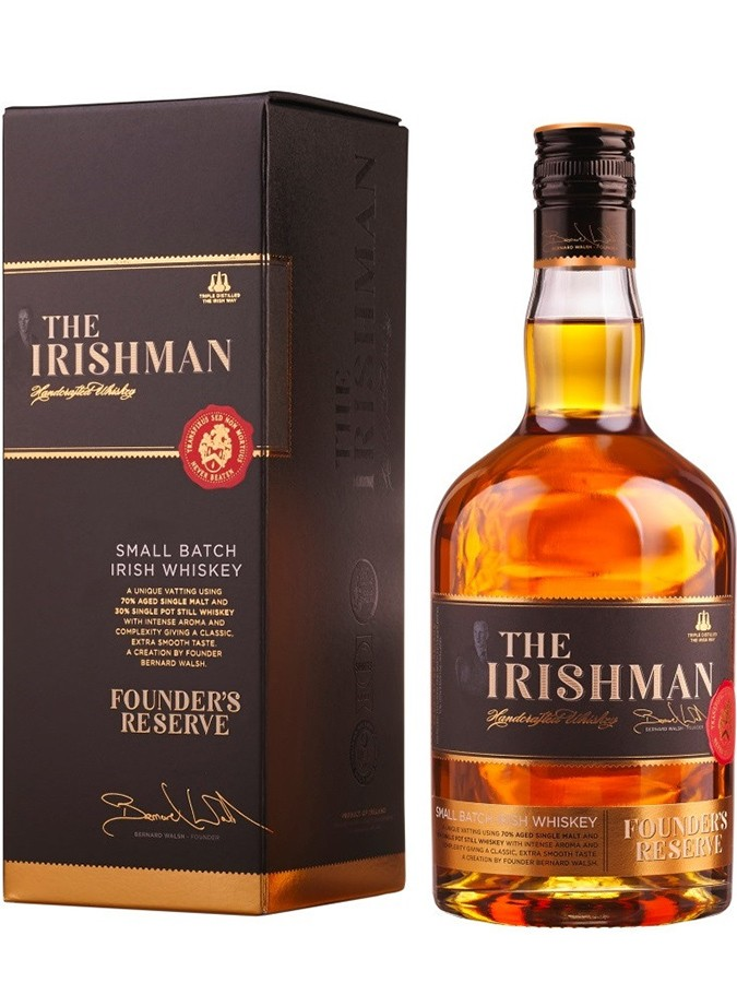 THE IRISHMAN Founder\'s Reserve 40% | Whisky Irlandais