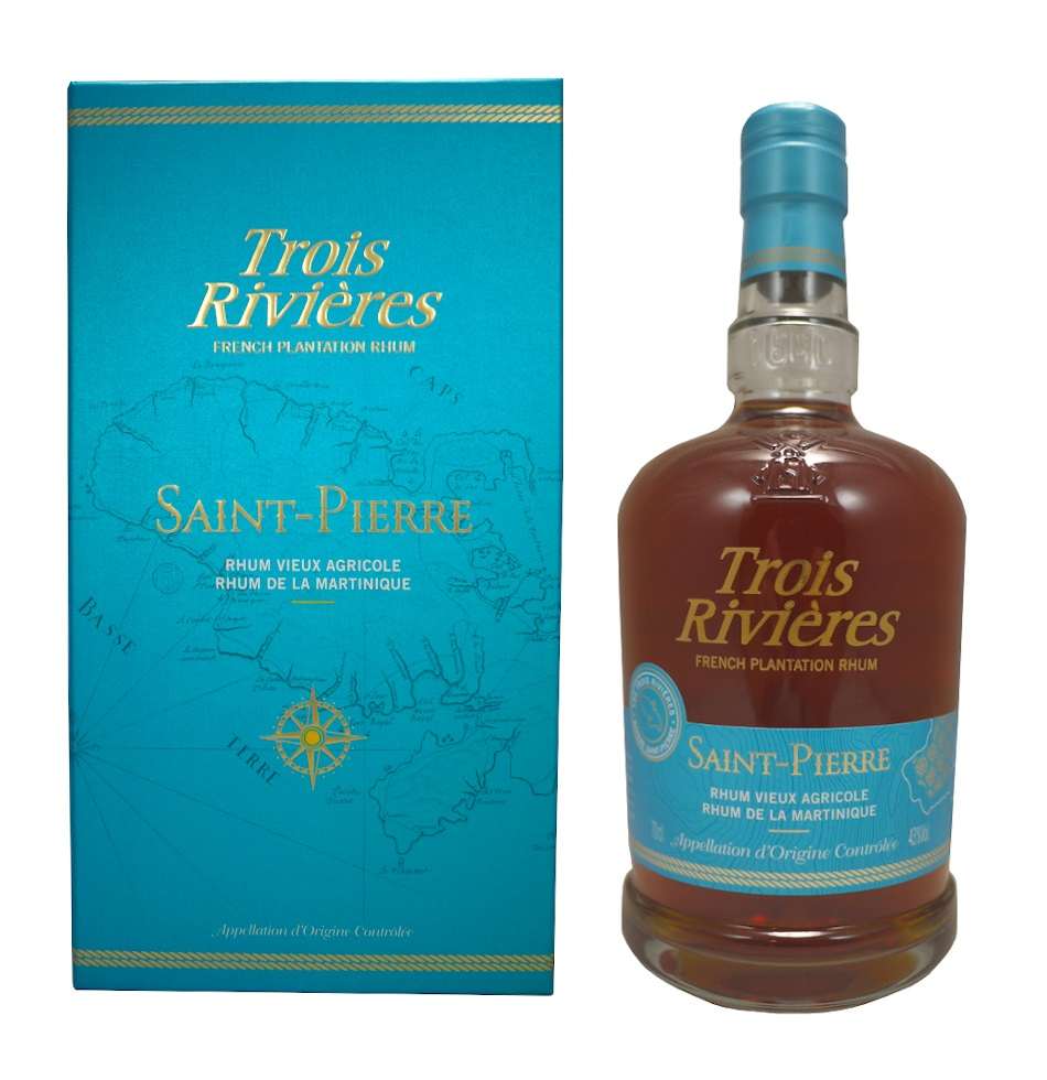 TROIS RIVIÈRES Saint-Pierre 43% | Rhum Vieux Agricole de la Martinique