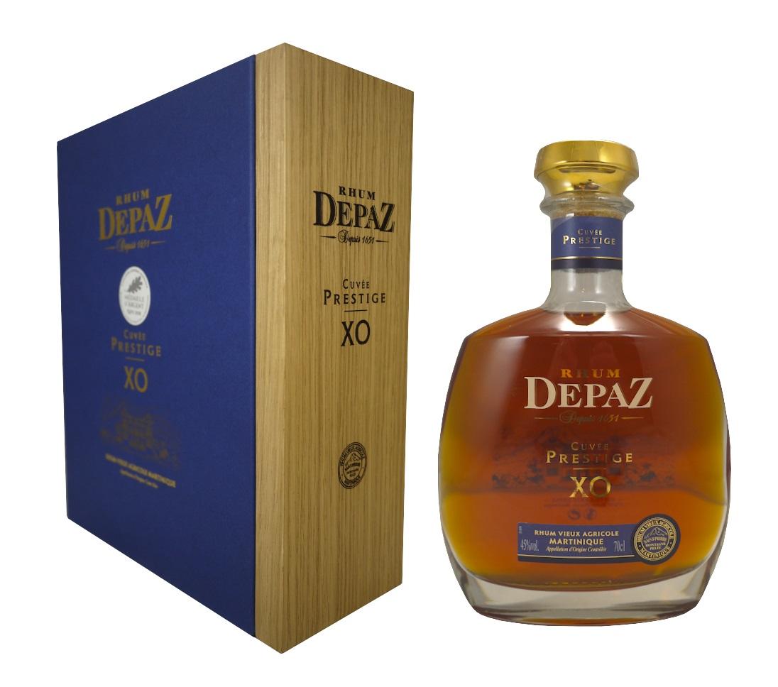DEPAZ Cuvée Prestige XO 45% Coffret | Rhum Vieux Agricole de la Martinique