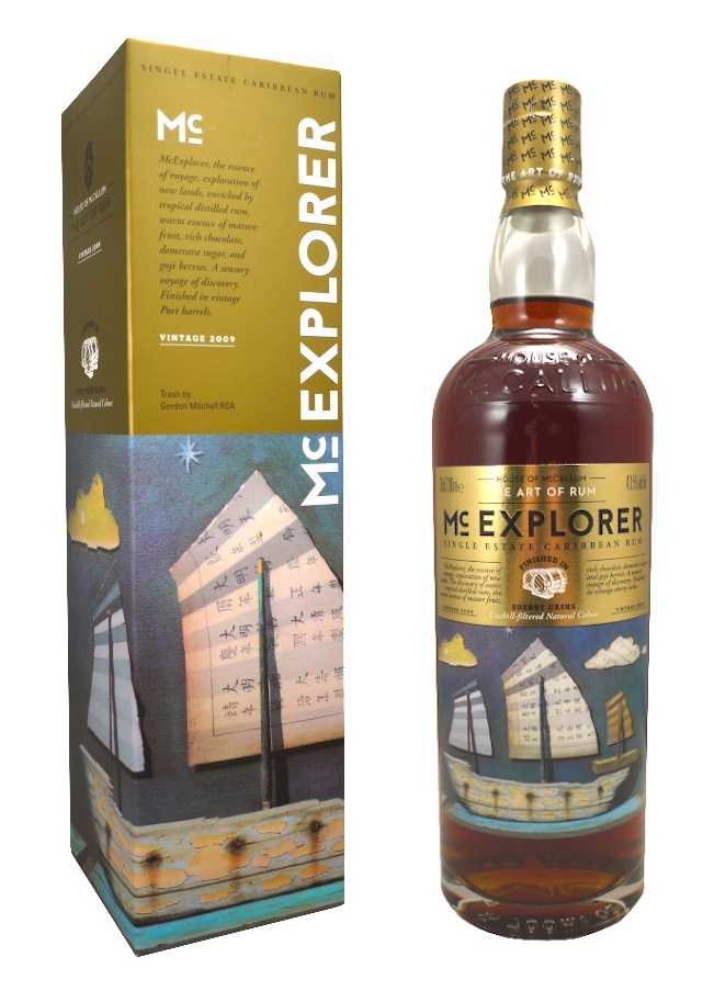 McEXPLORER 43,5 % Vintage 2009 House Of McCallum  | Rhum Antillais