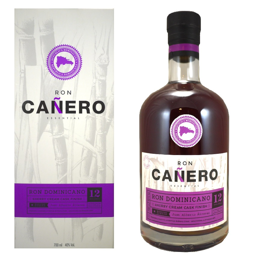 CAÑERO Sherry Cream Cask finish 40% | Rhum Vieux de la République Dominicaine
