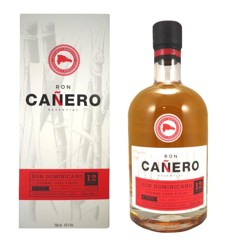 CAÑERO Cognac Cask Finish 43% | Rhum Vieux de la République Dominicaine