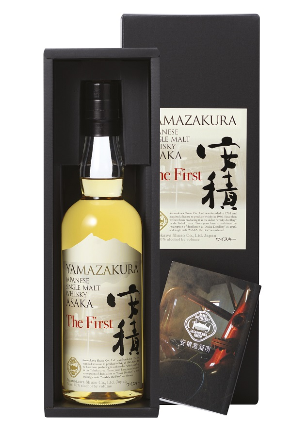 YAMAZAKURA Asaka The First 50 % | Single Malt Whisky Japonais