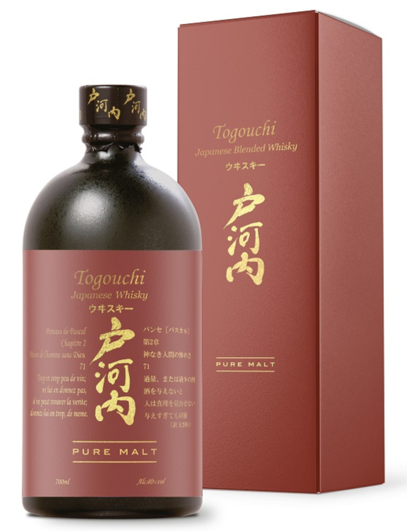 TOGOUCHI Pure Malt 40% | Whisky Japonais Légèrement Tourbé