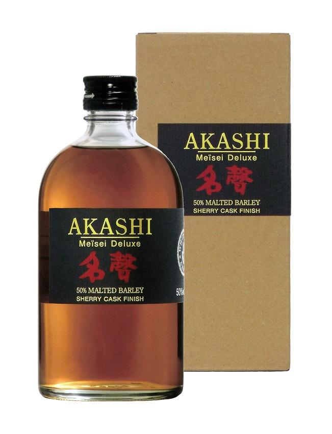 AKASHI Meïsei Deluxe Sherry Cask Finish 50% | Whisky Japonais