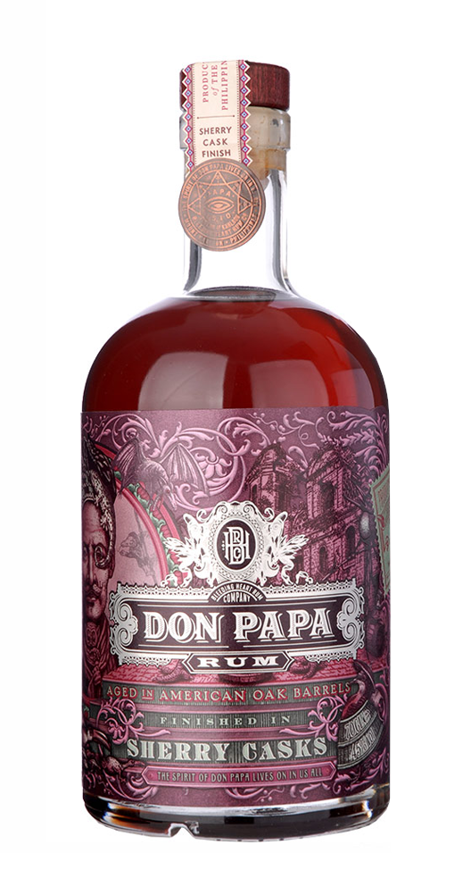 DON PAPA Sherry Cask Finish 45% | Rhum des Philippines