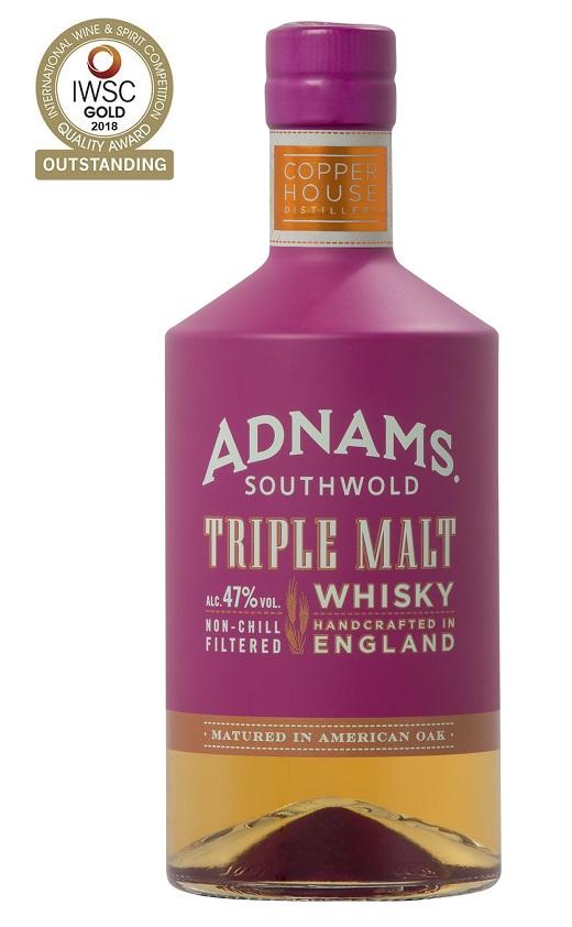 ADNAMS Triple Mat 47% | Whisky Anglais
