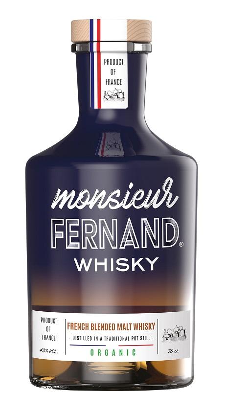 MONSIEUR FERNAND Whisky Français Bio 43%