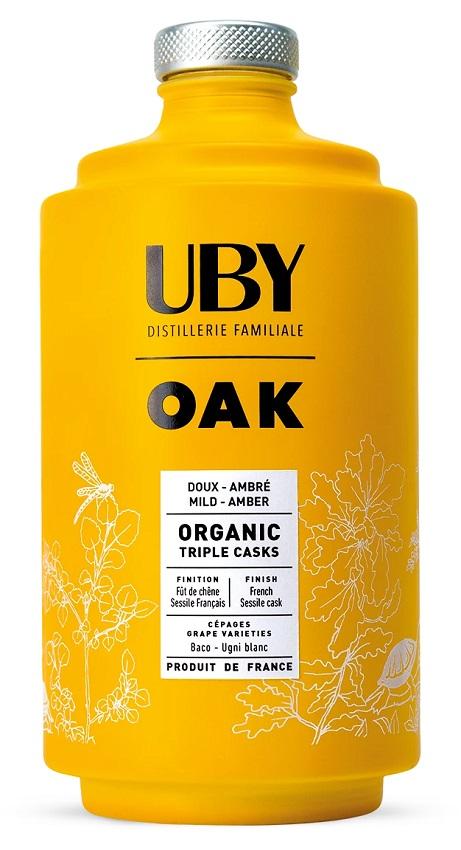UBY Oak Triple Cask 40% | Armagnac Artisanal Bio