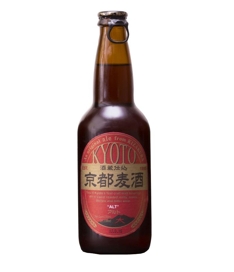 KYOTO BEER Alt 5% | Bière Japonaise Pilsner | Pack 12 bouteilles