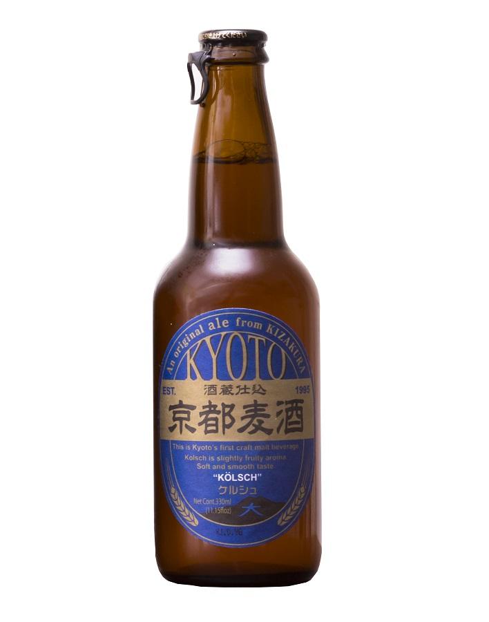 KYOTO BEER Kolsch 5% | Bière Japonaise Pilsner | Pack 12 bouteilles
