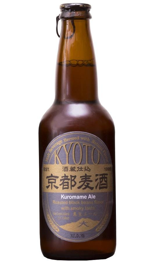 KYOTO BEER Kuromame Ale 5% | Bière Japonaise Pilsner | Pack 12 bouteilles