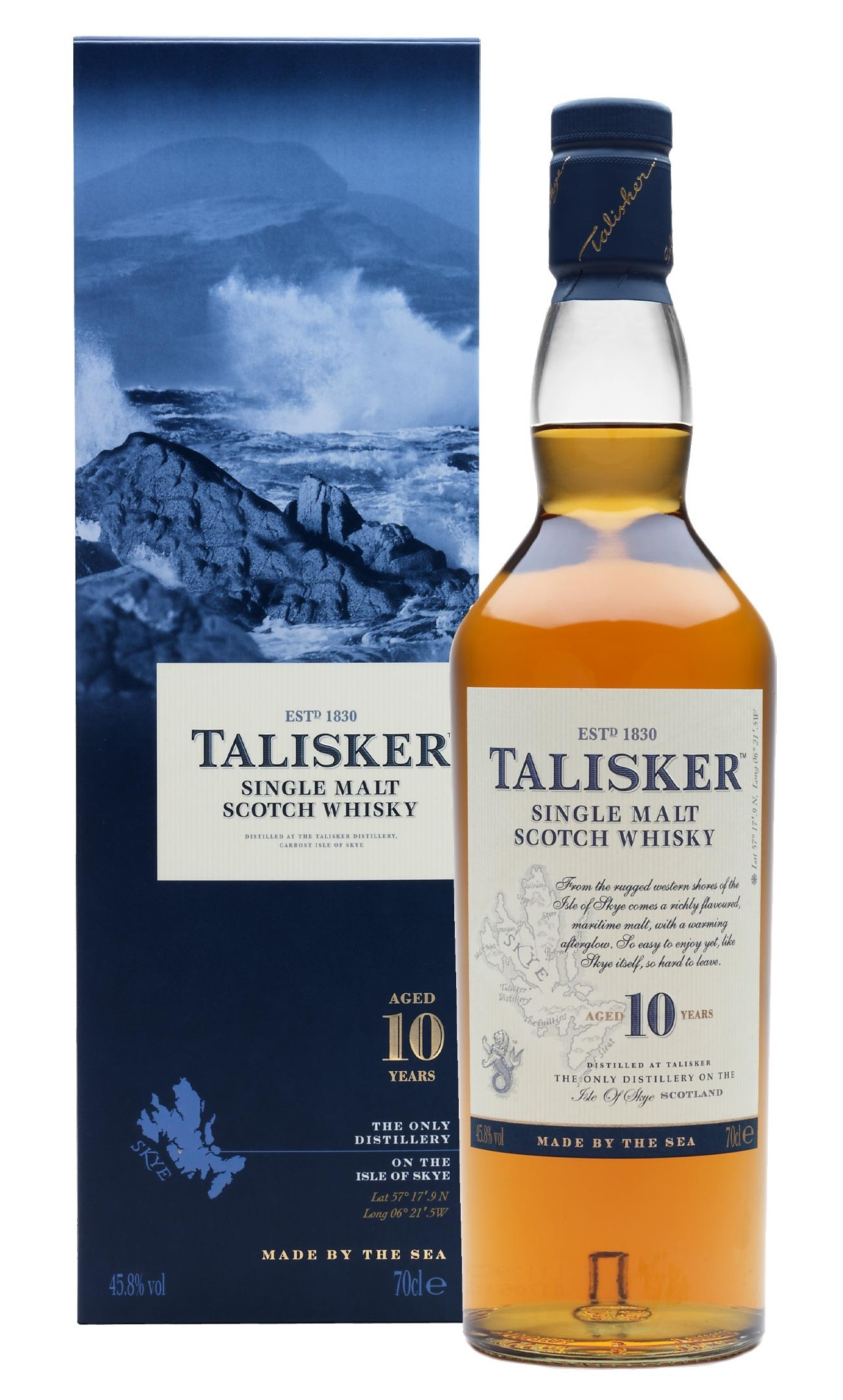 TALISKER 10 ans 45.8% | Single Malt Whisky