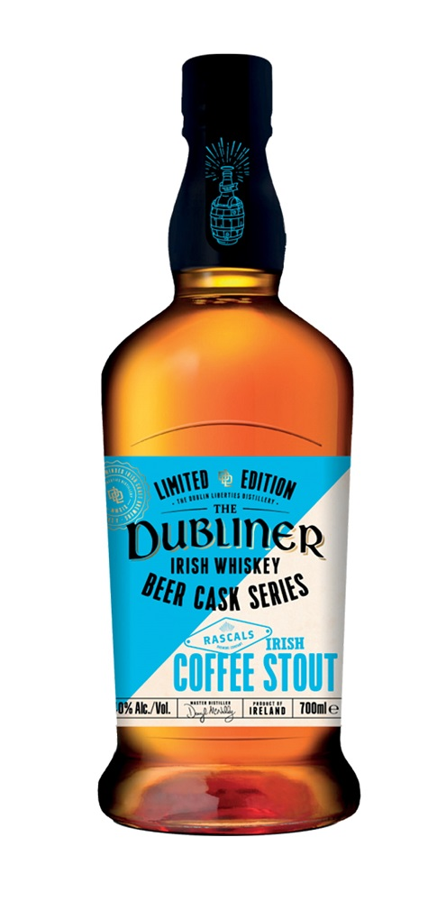 THE DUBLINER Beer Cask Series – Irish Coffee Stout 40 % | Whisky Irlandais