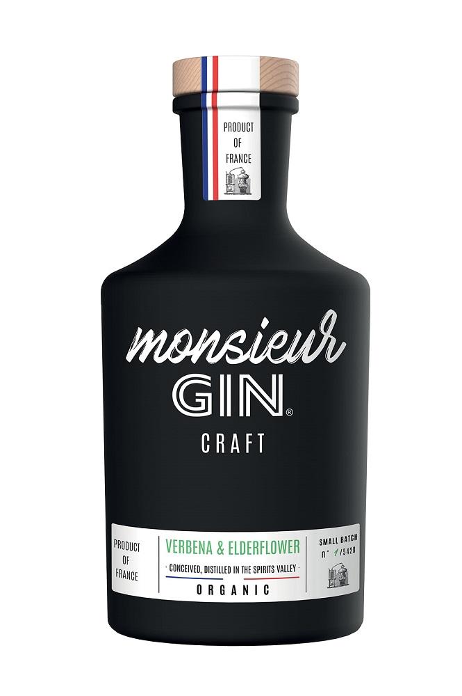 MONSIEUR Gin 40% | Gin Français Certifié Bio