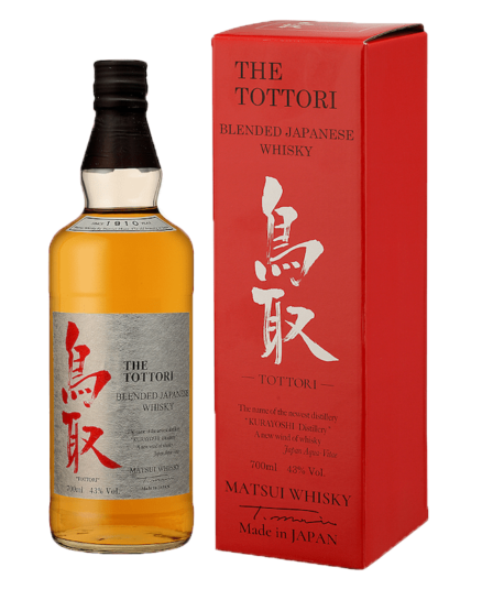 THE TOTTORI Blended 43 % | Whisky Japonais