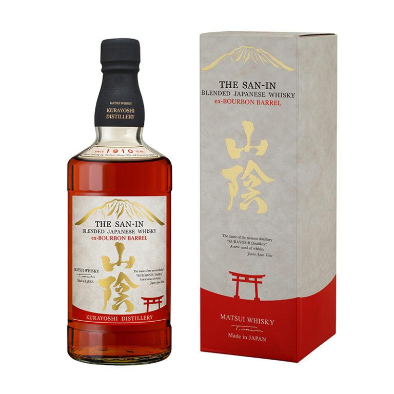 THE SAN-IN Ex-Bourbon Barrel 43% | Whisky Japonais