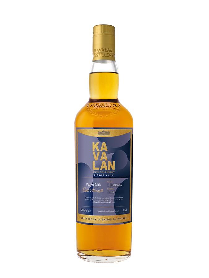 KAVALAN Peaty Malt French Connections 52,4% | Whisky Taïwanais