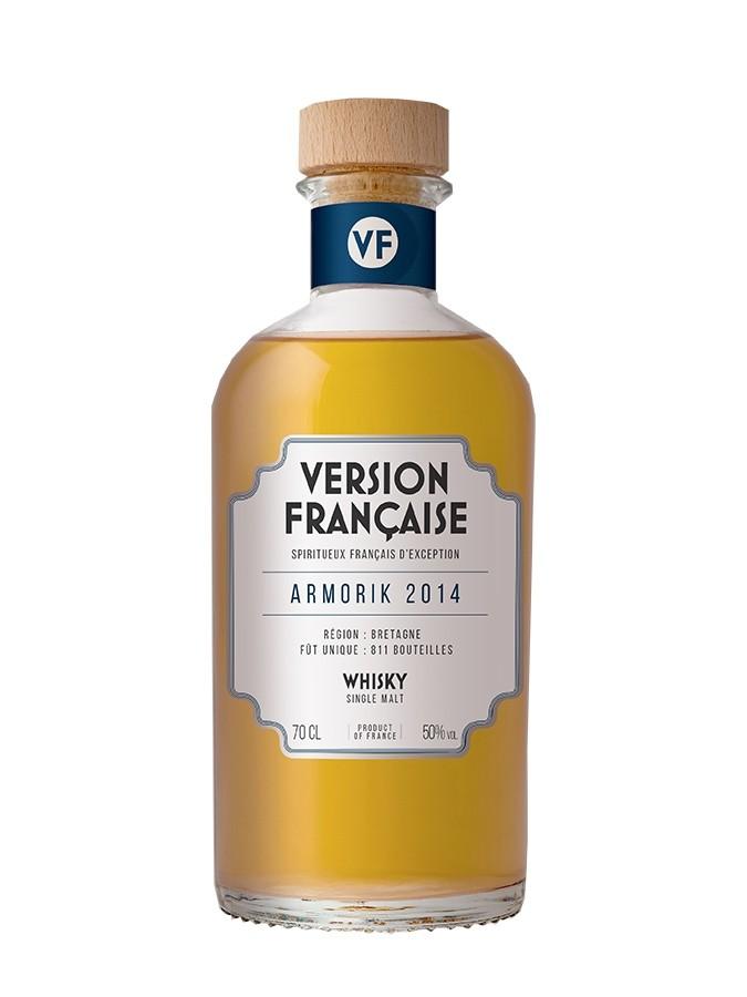 ARMORIK 2014 Version Française 50% | Whisky Tourbé Breton