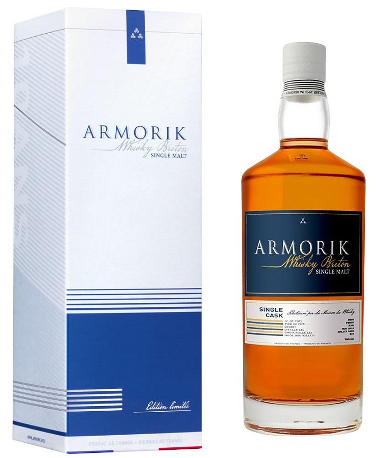 ARMORIK 6 ans 2014 Porto Finish 53% | Whisky Breton