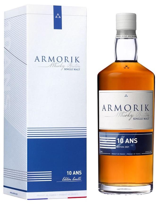 ARMORIK 10 ans Edition 2021 46% | Whisky Breton