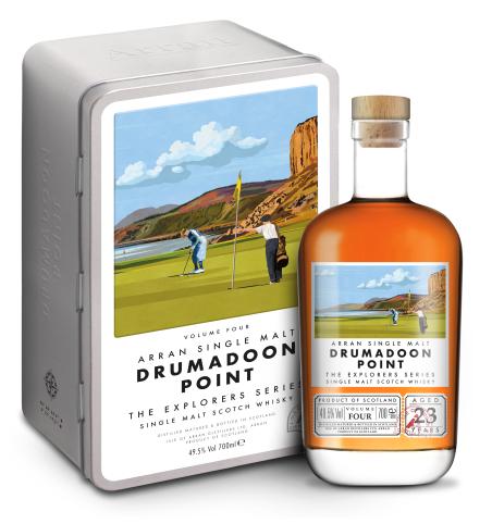 ARRAN 23 ans Drumadoon Point 49,5% | Single Malt Whisky Ecossais