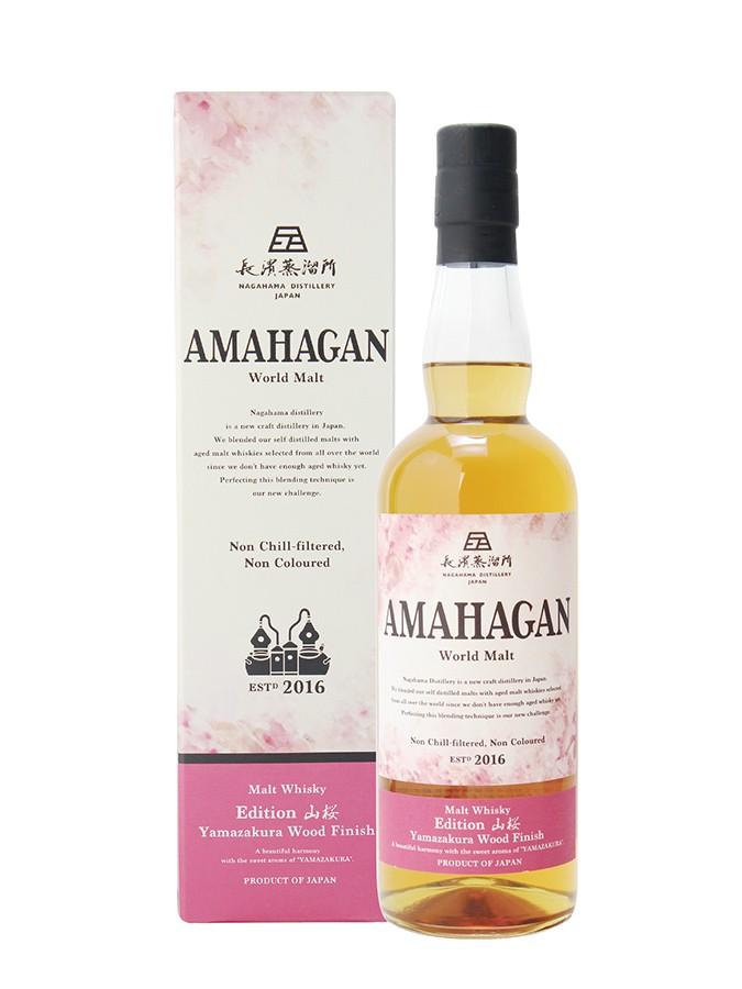 MAHAGAN Yamazakura Wood Limited Edition 47% | Whisky Japonais
