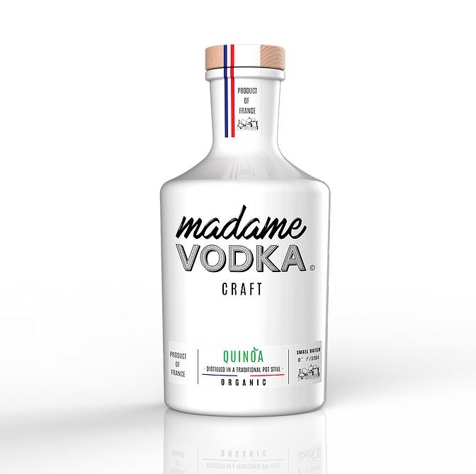 MADAME VODKA Quinoa 40% | Vodka française Bio