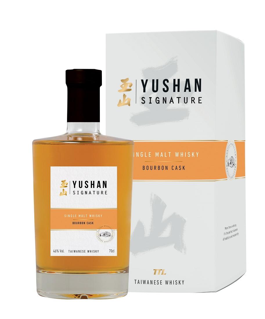 YUSHAN Signature Bourbon Cask 46% | Whisky Taïwanais