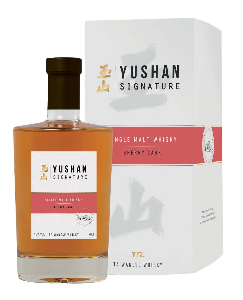 YUSHAN Signature Sherry Cask 46% | Whisky Taïwanais