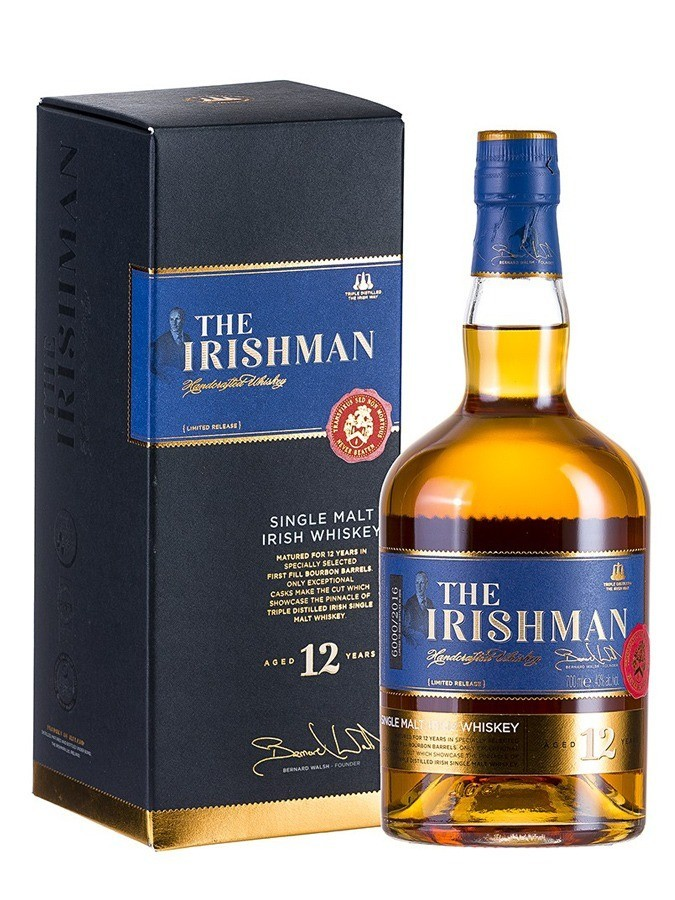THE IRISHMAN 12 ans 43% | Whisky Irlandais
