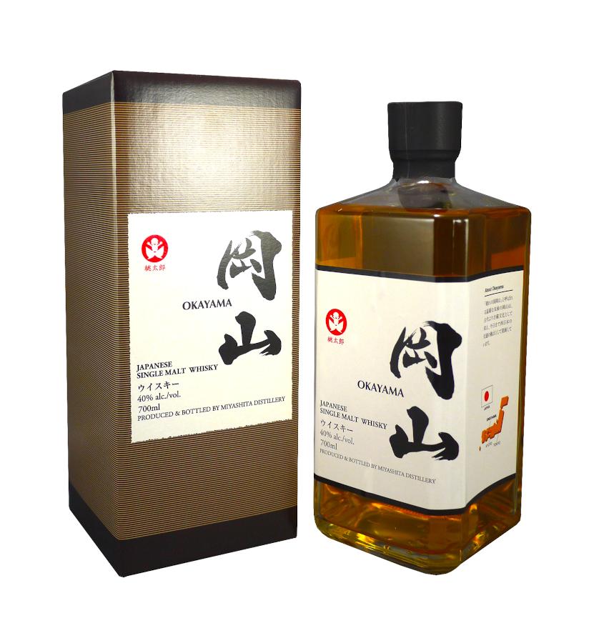 OKAYAMA Single Malt 40 % | Whisky Japonais