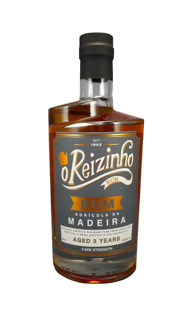 O REIZINHO 3 ans Madeira Cask 54,8% | Rhum Agricole de Madère (Portugal)
