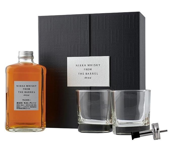 NIKKA From the Barrel 2 Verres & Bec Verseur 51,4% | Coffret Dégustation de Whisky Japonais